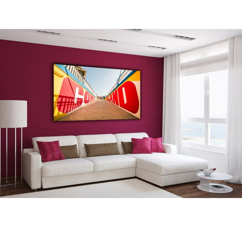 Art picture of Coney Island for a design interior