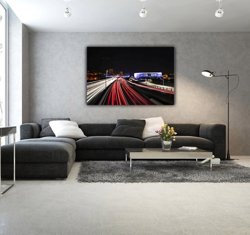 Art of time-lapse on this art photography for a modern interior