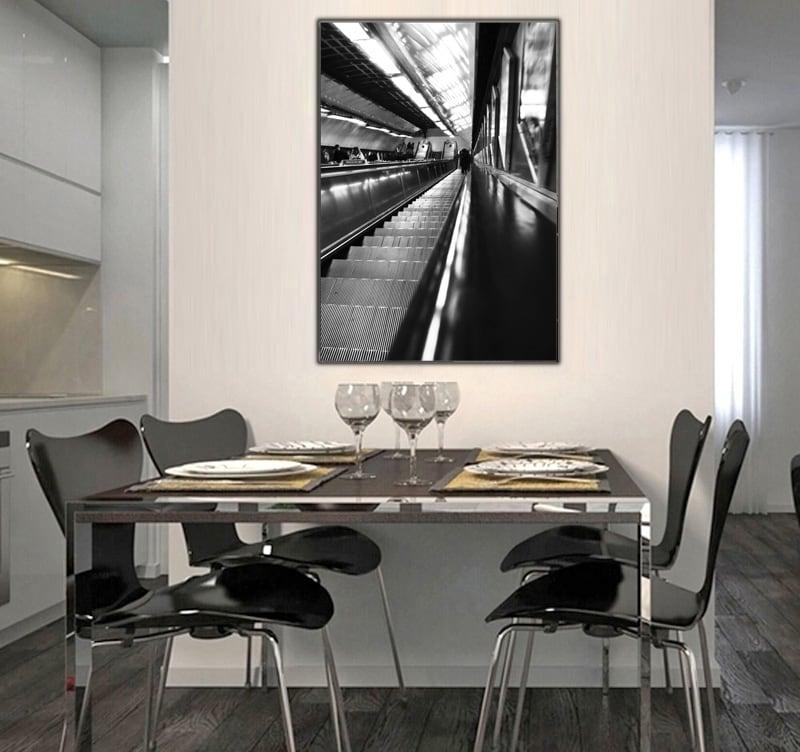 Tableau déco d'une photographie d'art moderne pour décorer votre inérieur avec style
