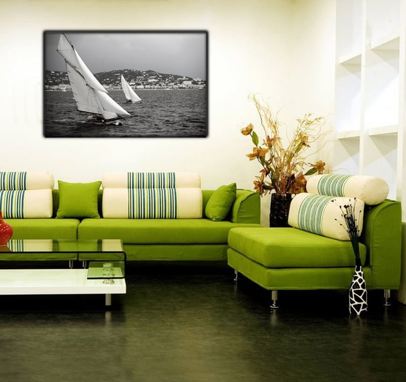 Sail photography for the sea lovers and modern interior