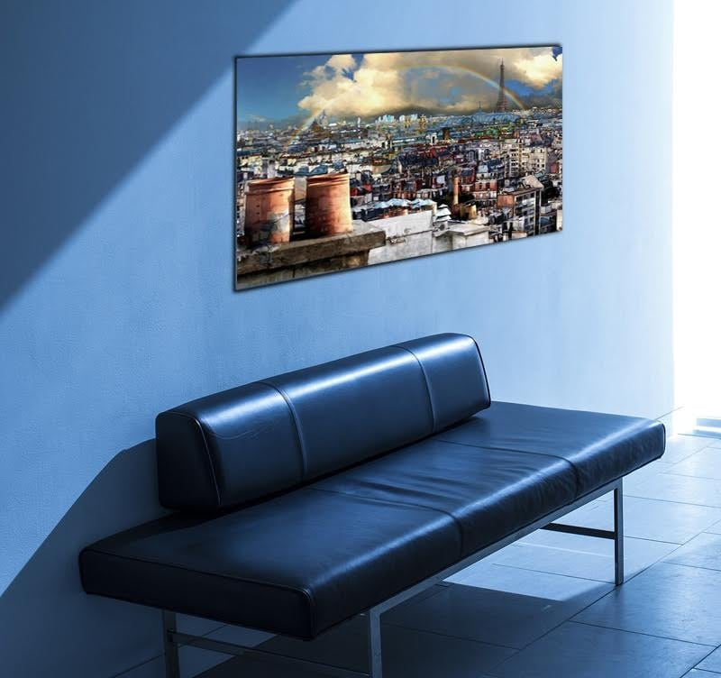 Beautiful Modern Art Picture of Paris to decorate your interior with a touch of design