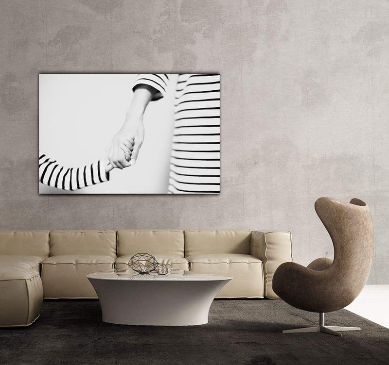 Photo d'art enfant pour décorer votre intérieur avec une touche calme et symbolique
