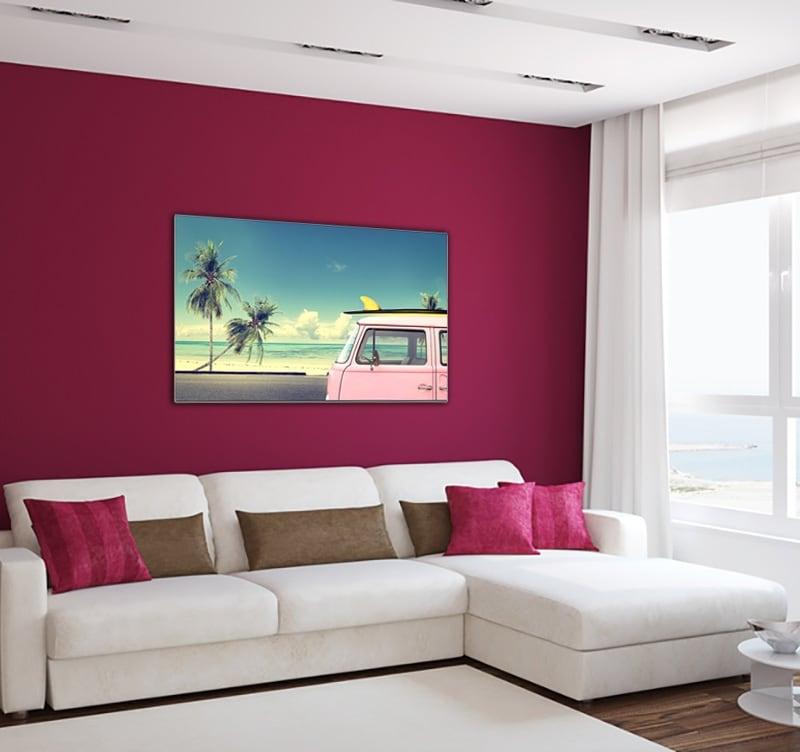 Tableau design surf beach pour donner un air de vacance à votre décoration intérieure