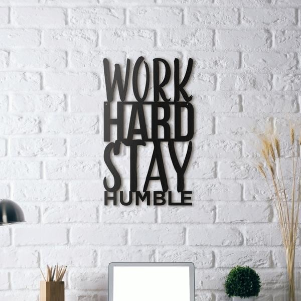 Work hard decoration on metal with a design touch for art lovers