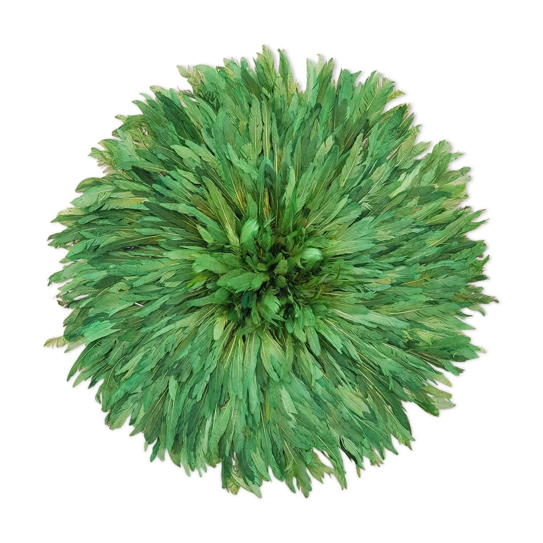 Juju hat déco africaine en couleur verte