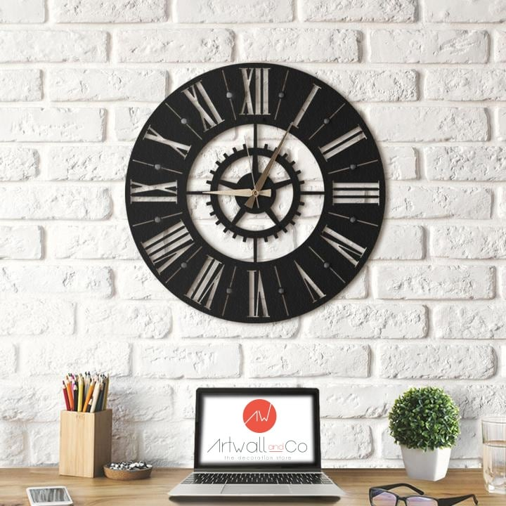 Europe metal wall clock for scandinavian interior