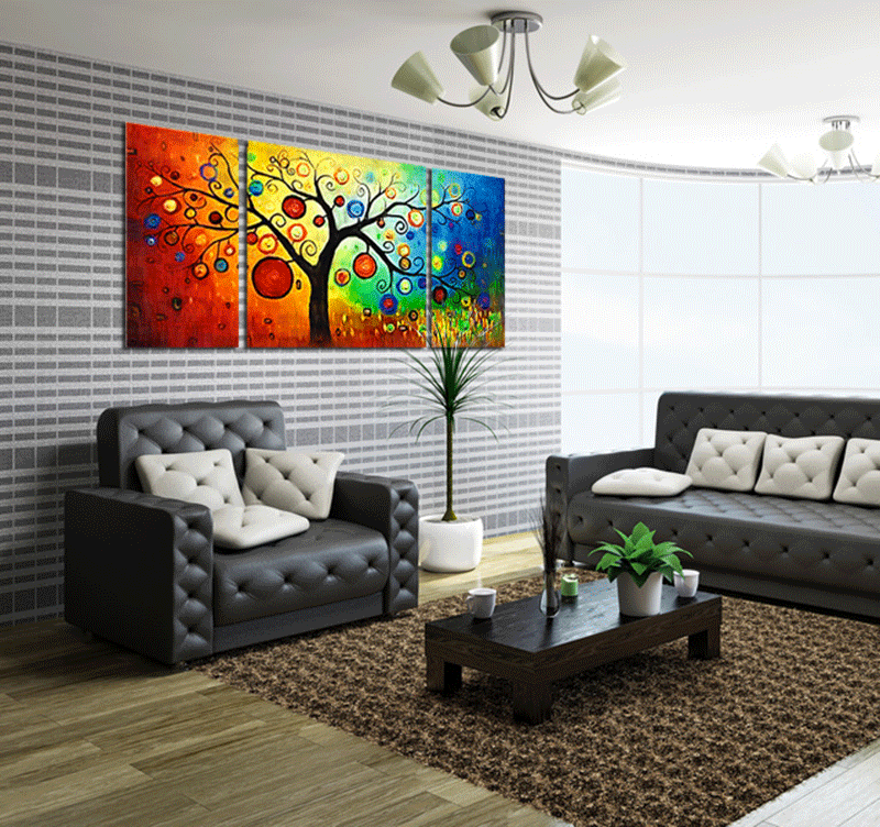 Design Decoration Tree contemporary art print