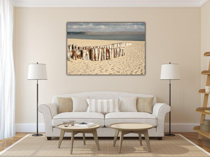 Présentation de notre tableau haut de gamme de la plage d'aquitaine