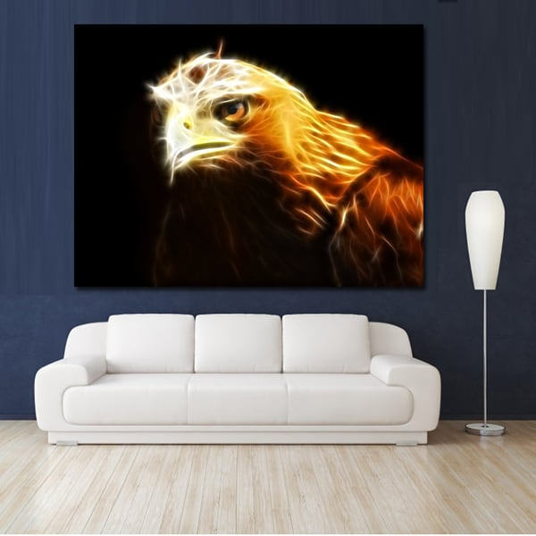 Royal Eagle animal art print