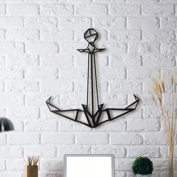 Modern Anchor wall decoration for a design interior