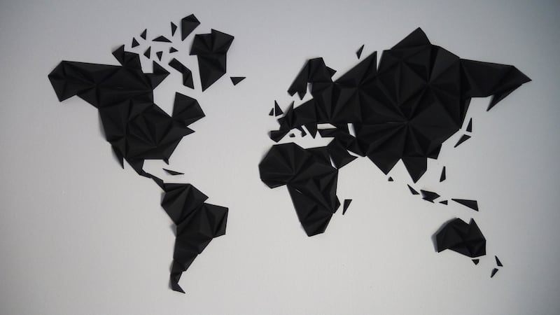 Mappemonde papier pour une décoration murale originale