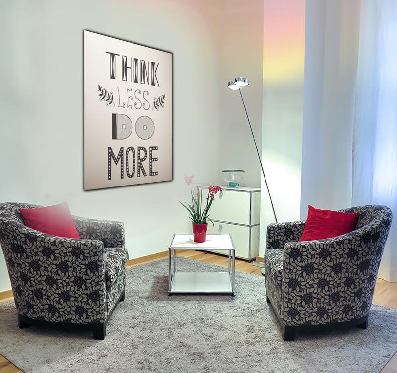 Magnifique tableau design avec des inscriptions motivantes pour tous les rêveurs afin de décorer votre intérieur