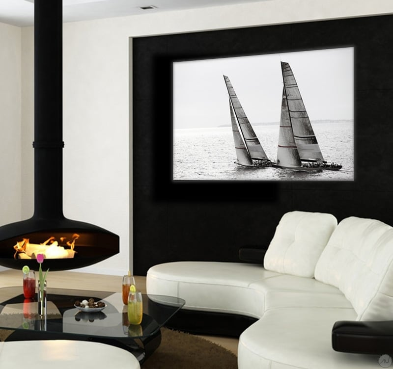 America's Cup wall decoration