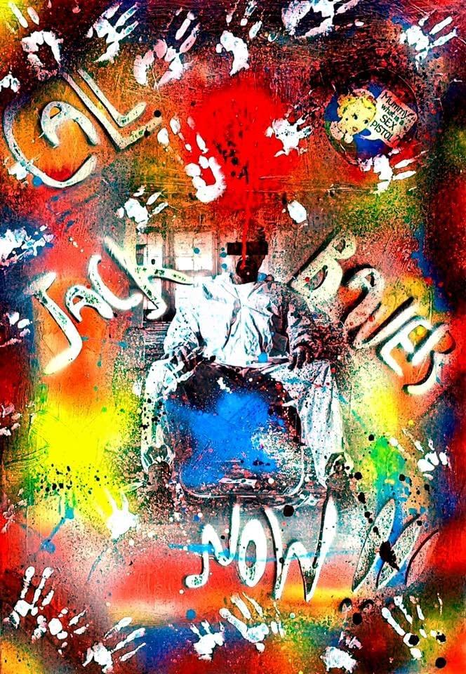 Tableau peinture de la série 24H Chrono et Breaking Bad sur une toile pop art