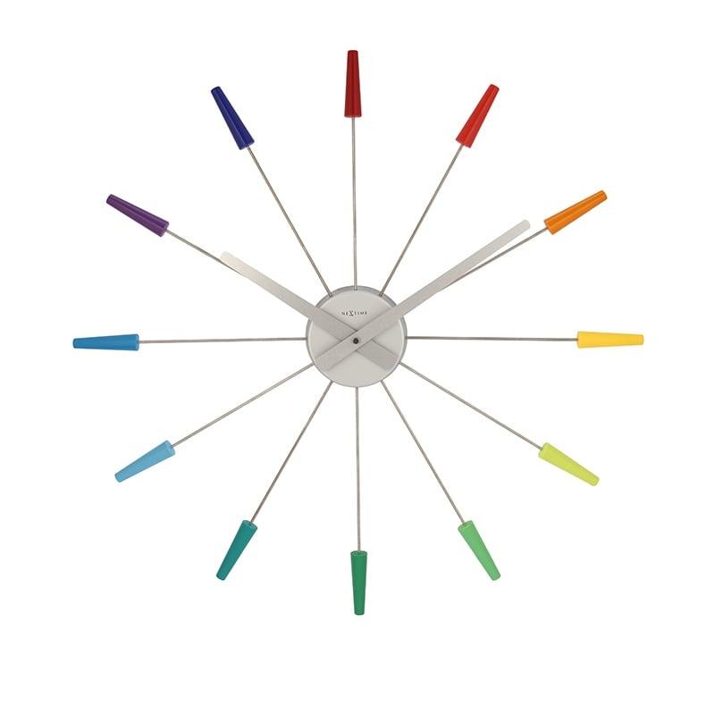 Horloge murale design sans cadran pour un intérieur unique