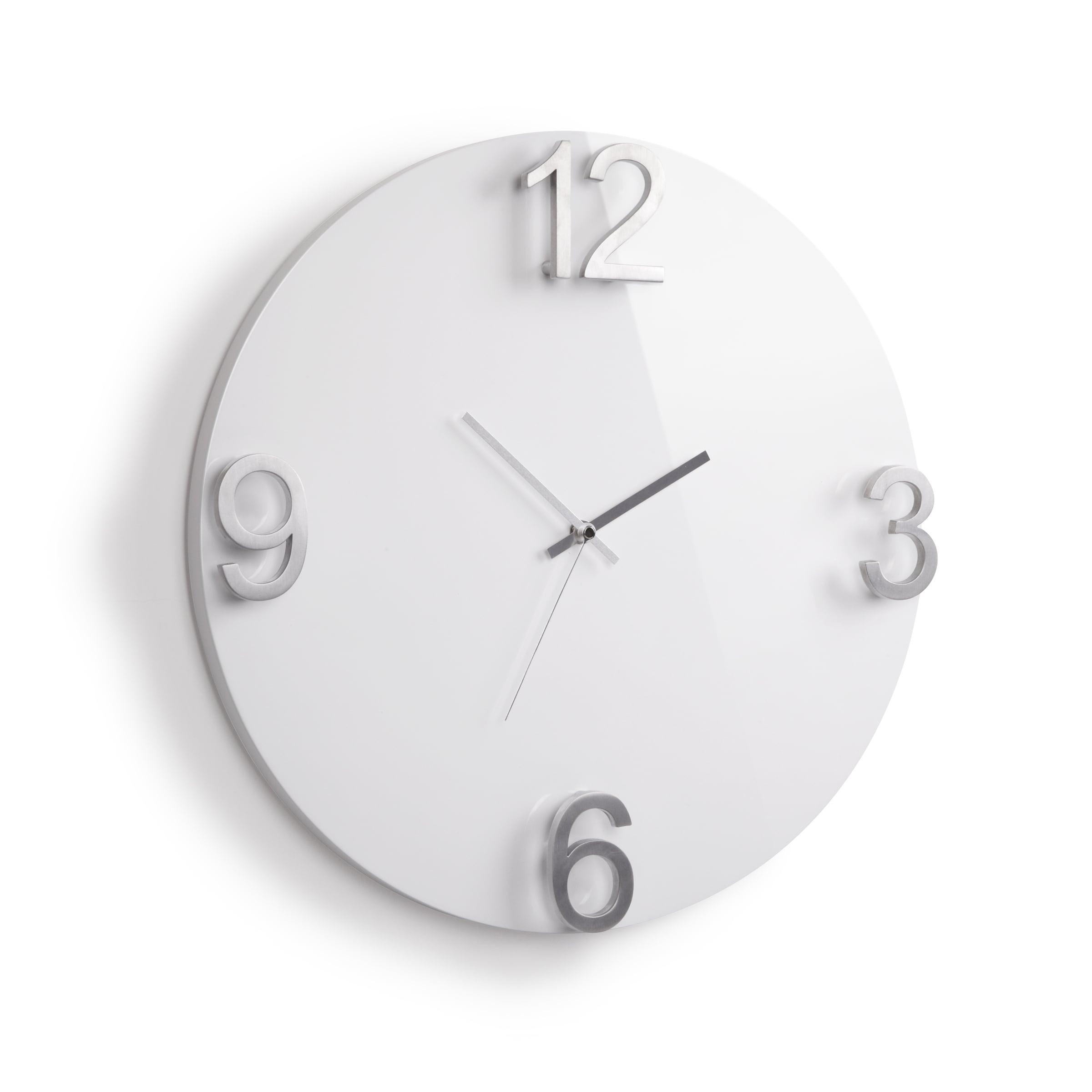Horloge murale design gloss pour une cuisine tendance