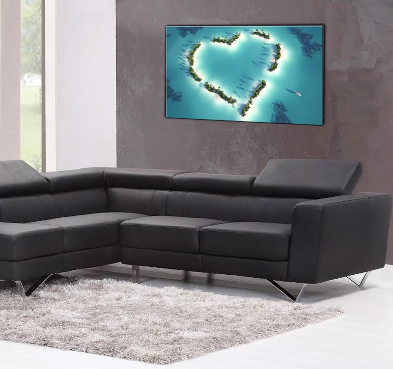 Tableau décoratif pour accrocher aux murs de votre salon dans une ambiance design