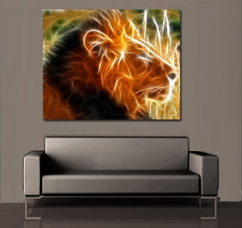 L'Aura du Lion wall art print