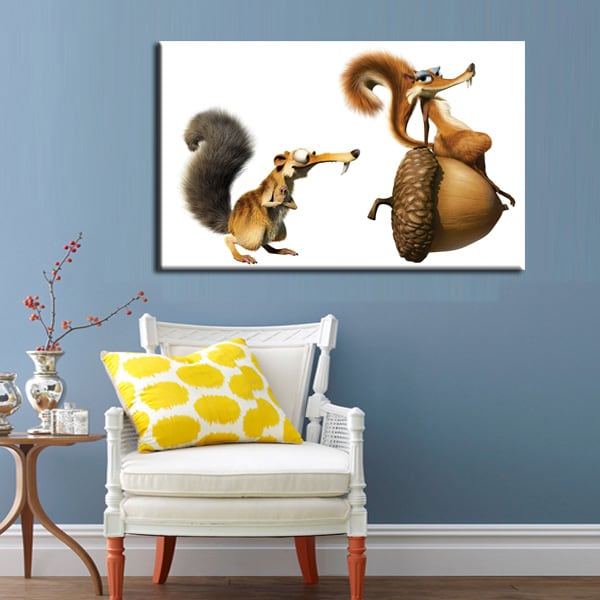 Love Scrat Art Print for Kids