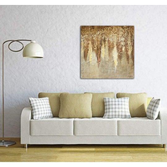Toile peinture tricium pour un style moderne