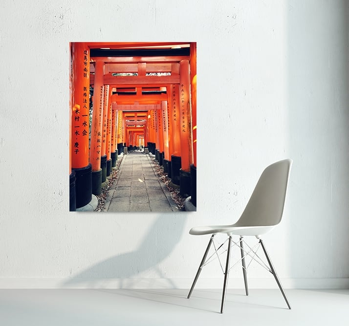 Chinese culture for a design and modern interior with this art photo