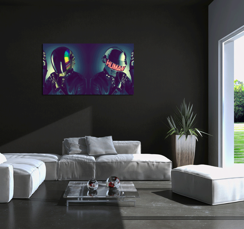 Présentation du tableau personnage des Dj Daft Punk