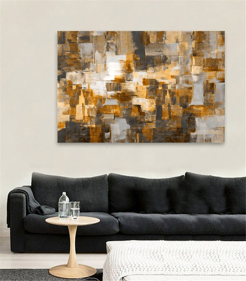 Modern oil painting for a big wall decoration