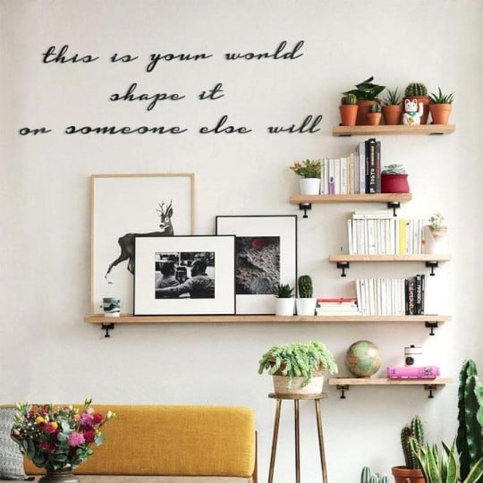 Design metal wall decoration creation for an inspiration touch into your home