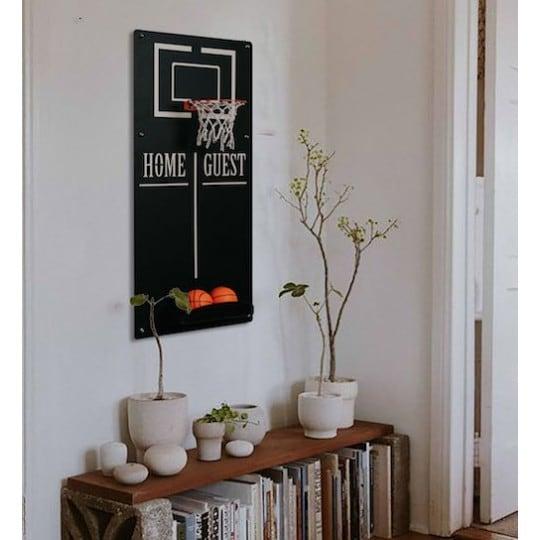 Jeux en métal de basket pour votre décoration murale design