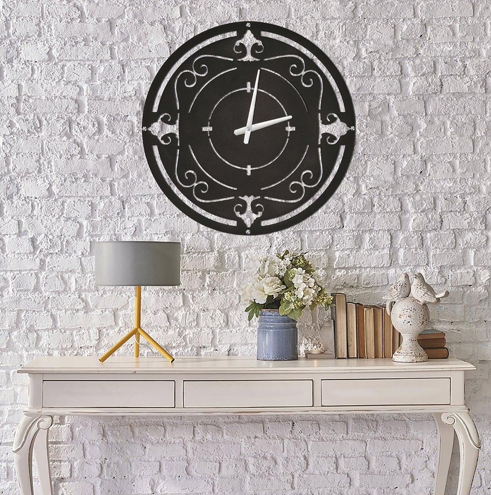 Horloge murale métallique Drys pour créer un intérieur stylé