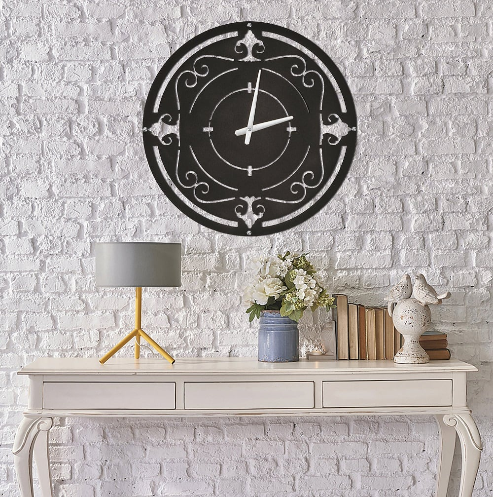 Drys metal wall decoration clock for a unique interior