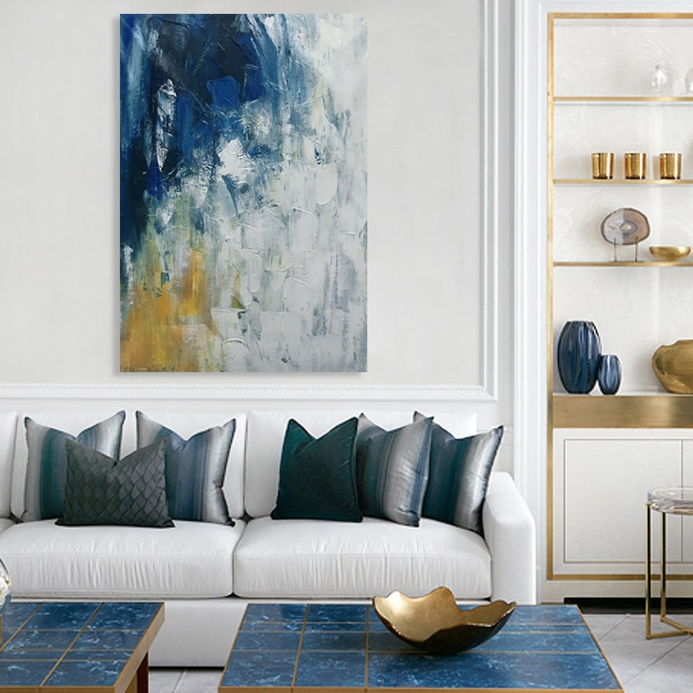 Tableau abstrait peinture exilir pour un intérieur unique