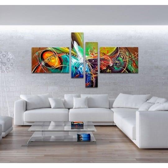 Toile tableau peinture design d'Artwall and Co pour une décoration murale moderne
