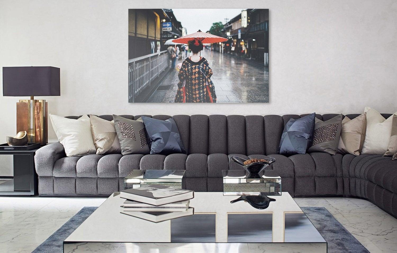 Geisa art photo wall decoration for japenese interior