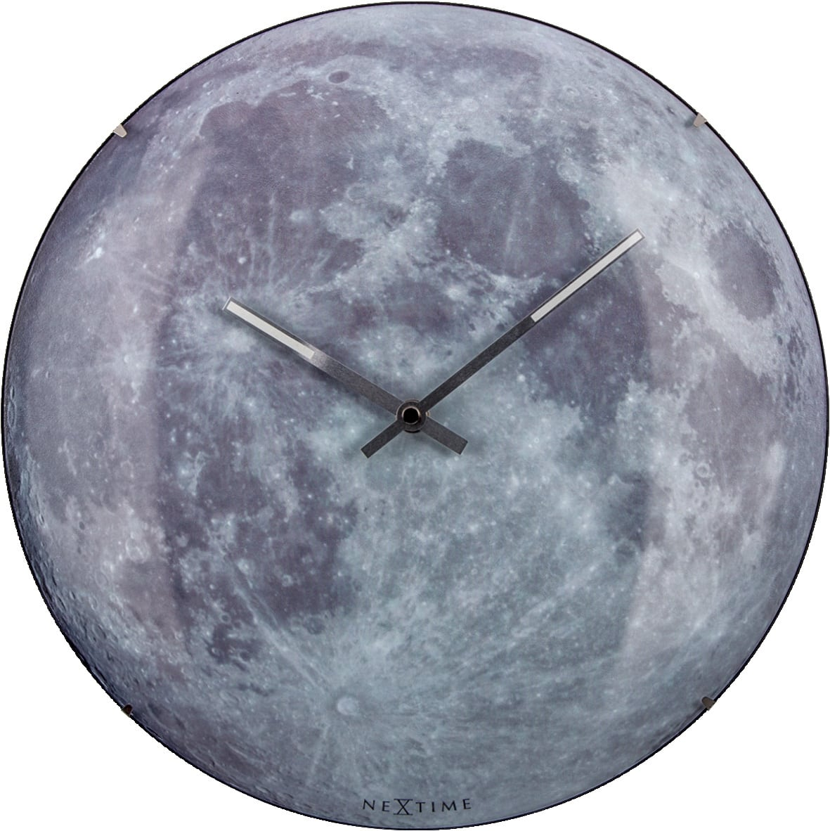 Moon design wall clock for a unique interior