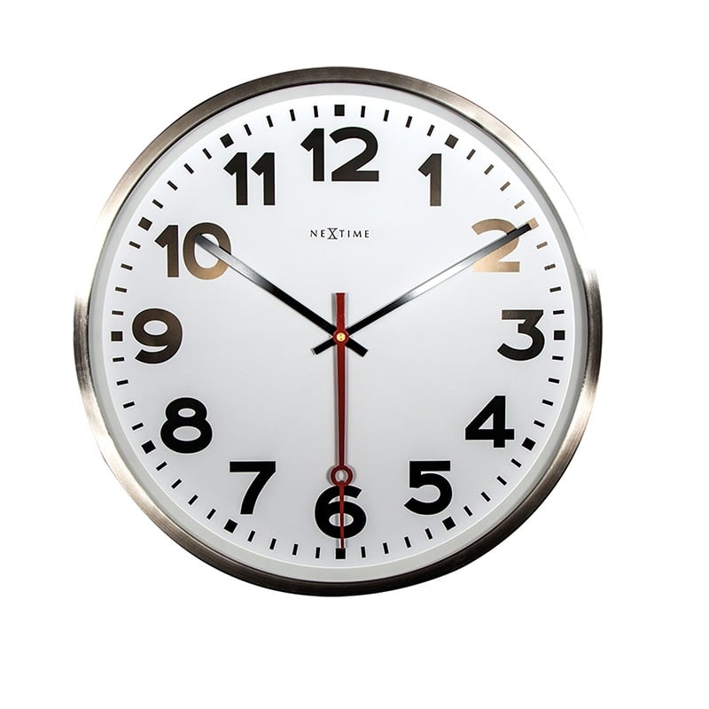 Modern wall clock for a decorative interior