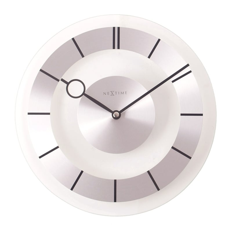 Retro wall clock for a vintage interior and decoration