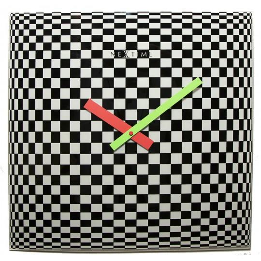 Horloge murale tendance hypnose