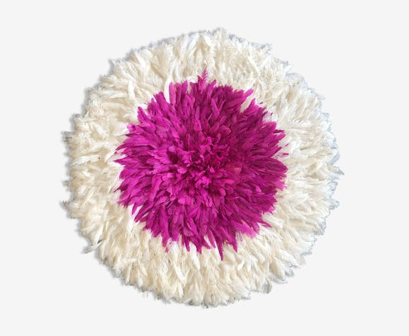 juju hat pink and white for a boho wall decoration into your home