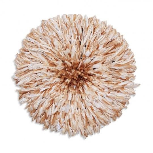 Beige natural juju hat for african interior