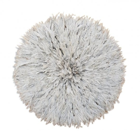 Juju hat with a cream color for a design and modern wall decoration