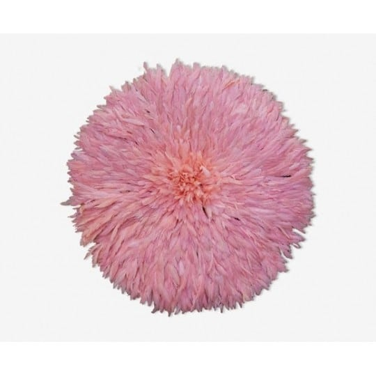 Pink juju hat for a girly and bohemian interior decoration