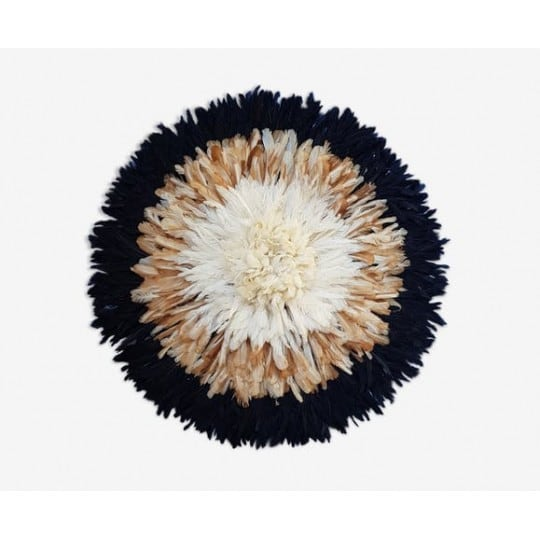 Tricolor juju hat for an ethnic and african interior