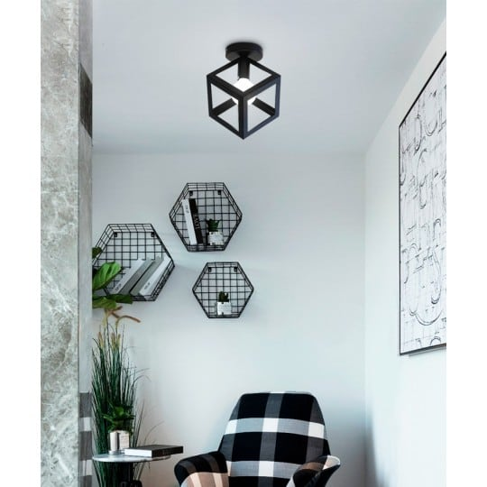 Cario wall lamp with a geometric style for a unique inspiration