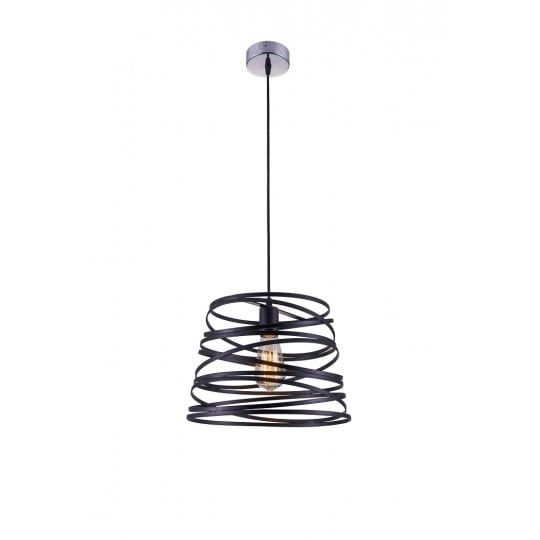 Spiral wall lamp for a trendy and original decoration