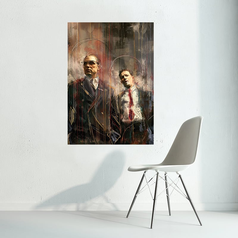 Legends tom hardy modern wall decoration canvas for interior