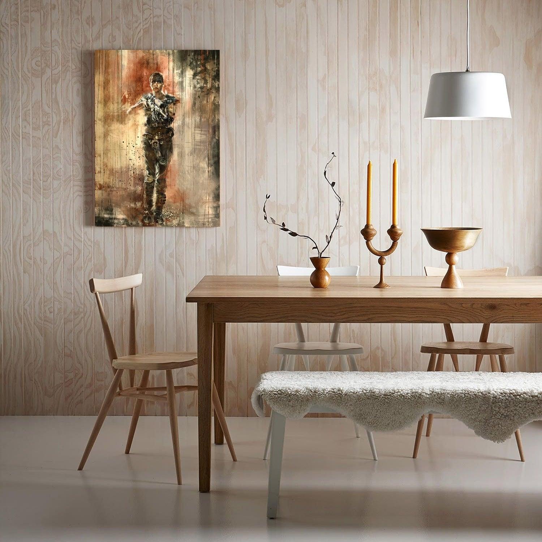 Furiosa mad max modern canvas for an original decoration