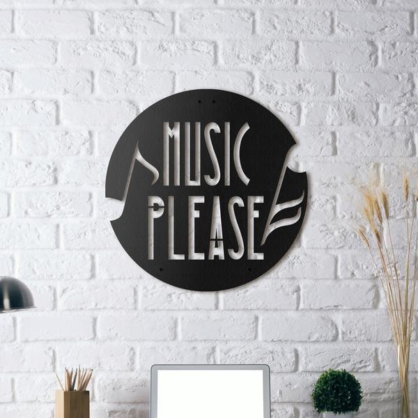 Décoration murale métal musique pour un intérieur mélodieux !
