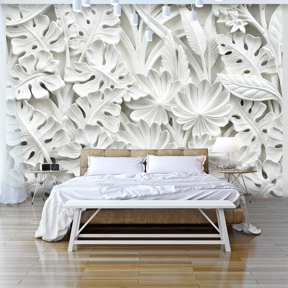Alabaster nature wallpaper for a unique interior