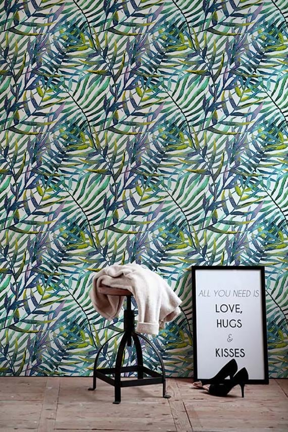 Amazonian wallpaper for a trendy and beautiful wall decoration